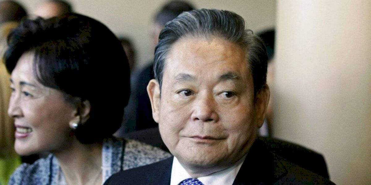 Fallece Lee Kun-hee, presidente de Samsung, a los 78 años