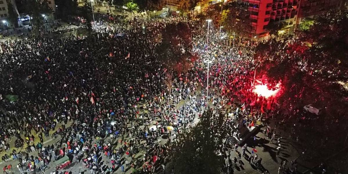 Chile fue una sola voz: Apruebo se impone con fuerza y se desata la celebración