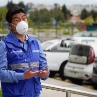 Jorge Yunda en video da detalles sobre su contagio de COVID y aconseja