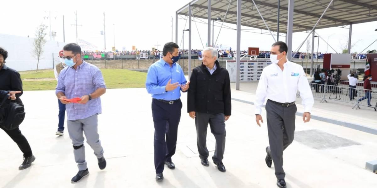Gobernador de Tamaulipas pide a AMLO reparto equitativo de agua