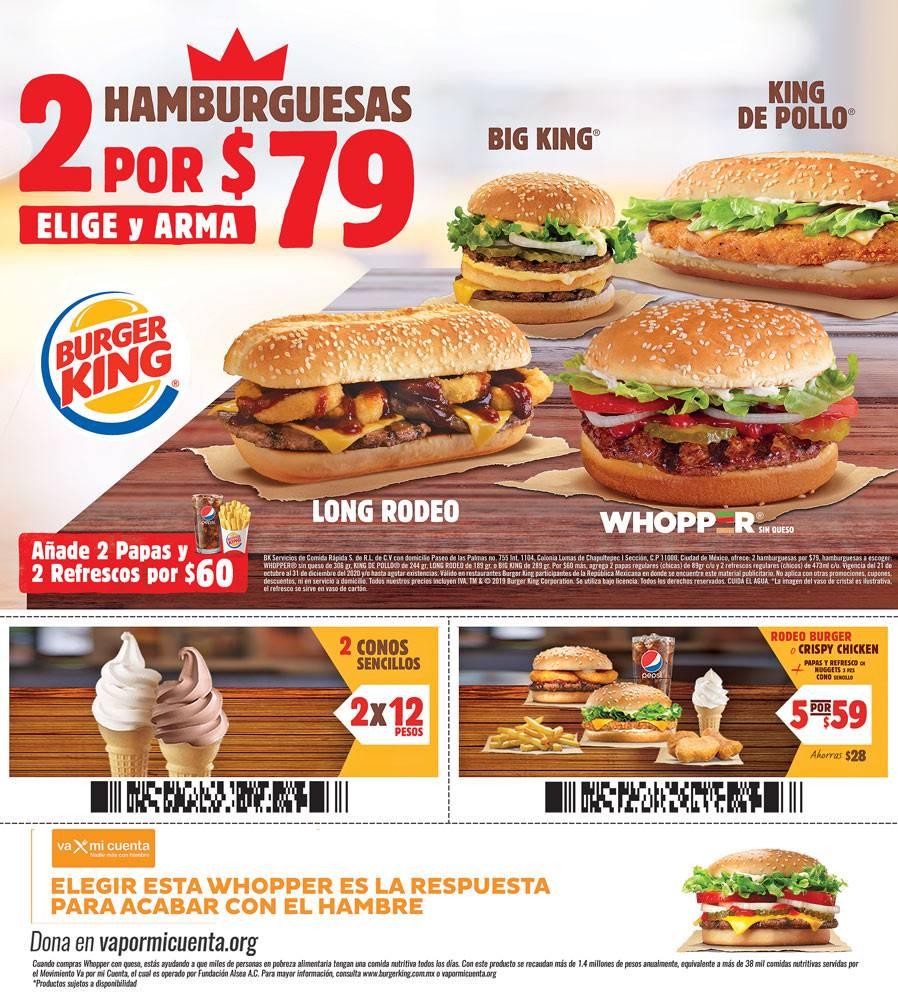 Anuncio Burger King segura edición CDMX del 26 de Octubre del 2020, Página 15