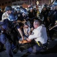Demandan a la Policía de Nueva York por maltratos a manifestantes