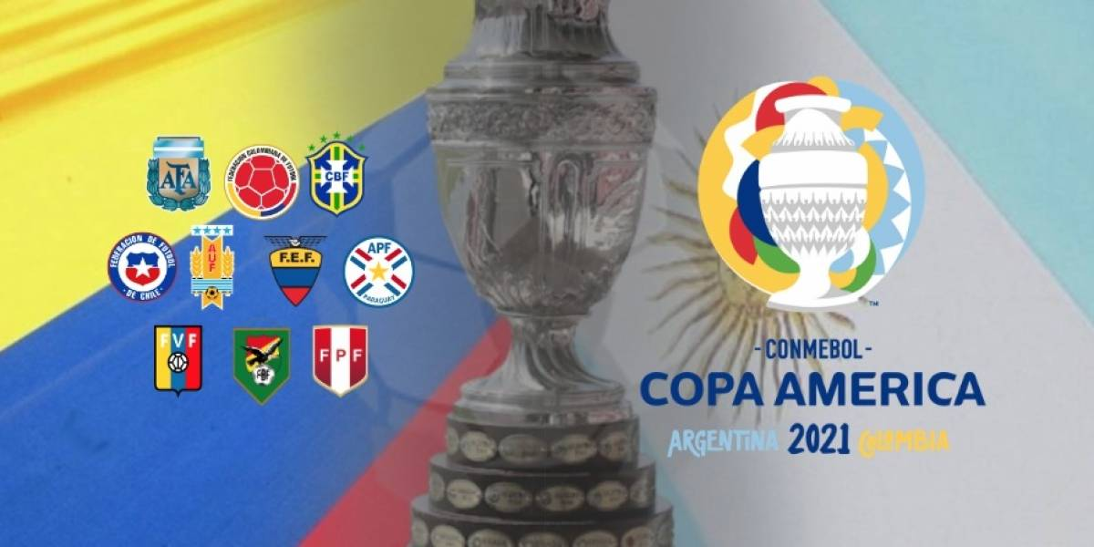 SELECCIÓN COLOMBIA   La Conmebol planea la Copa América Argentina - Colombia 2021 con público ...