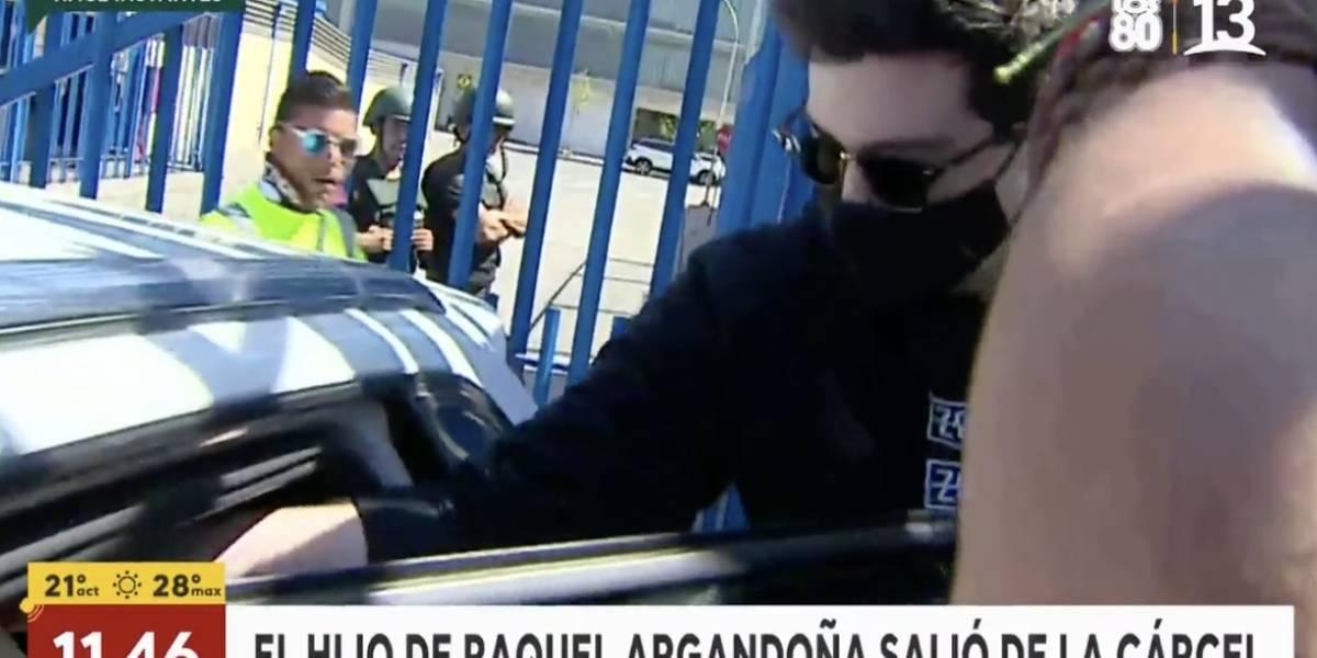 """Raquel Argandoña emocionada hasta las lágrimas con salida de """"Nano"""" Calderón de la cárcel"""