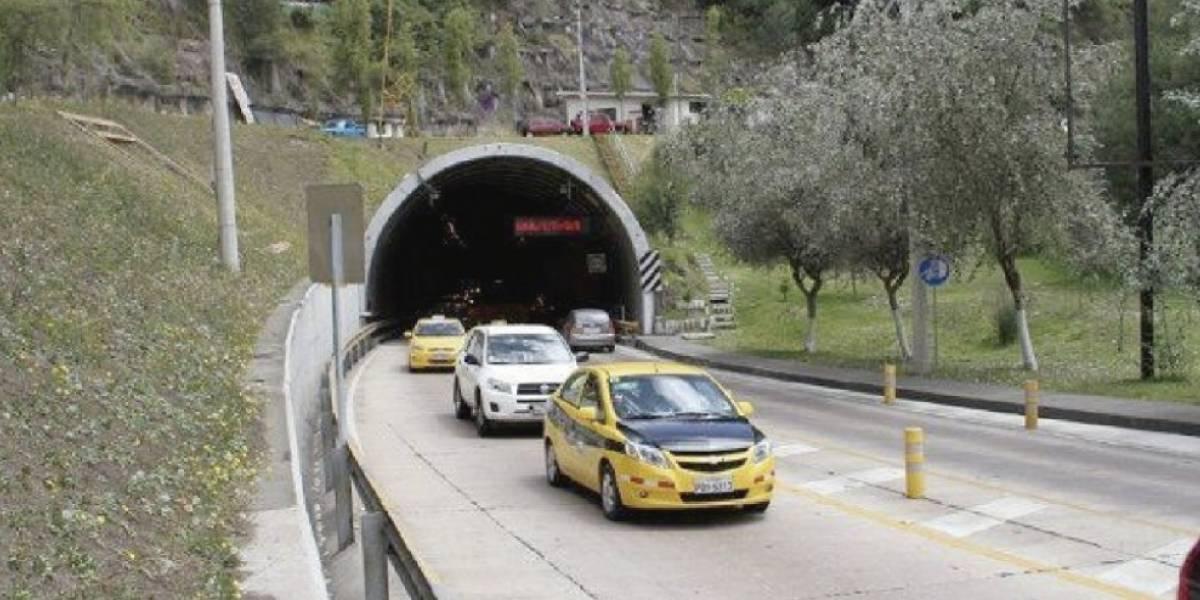 Estas son las rutas alternas ante cierre en el túnel Guayasamín; solo dos carriles están habilitados