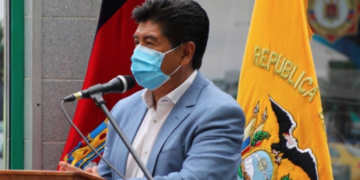 Alcalde de Quito, Jorge Yunda, comparte video sobre la colocación del grillete
