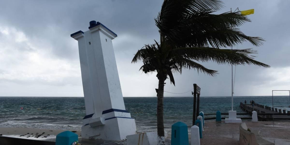 Huracán Zeta toca tierra en Tulum, Quintana Roo