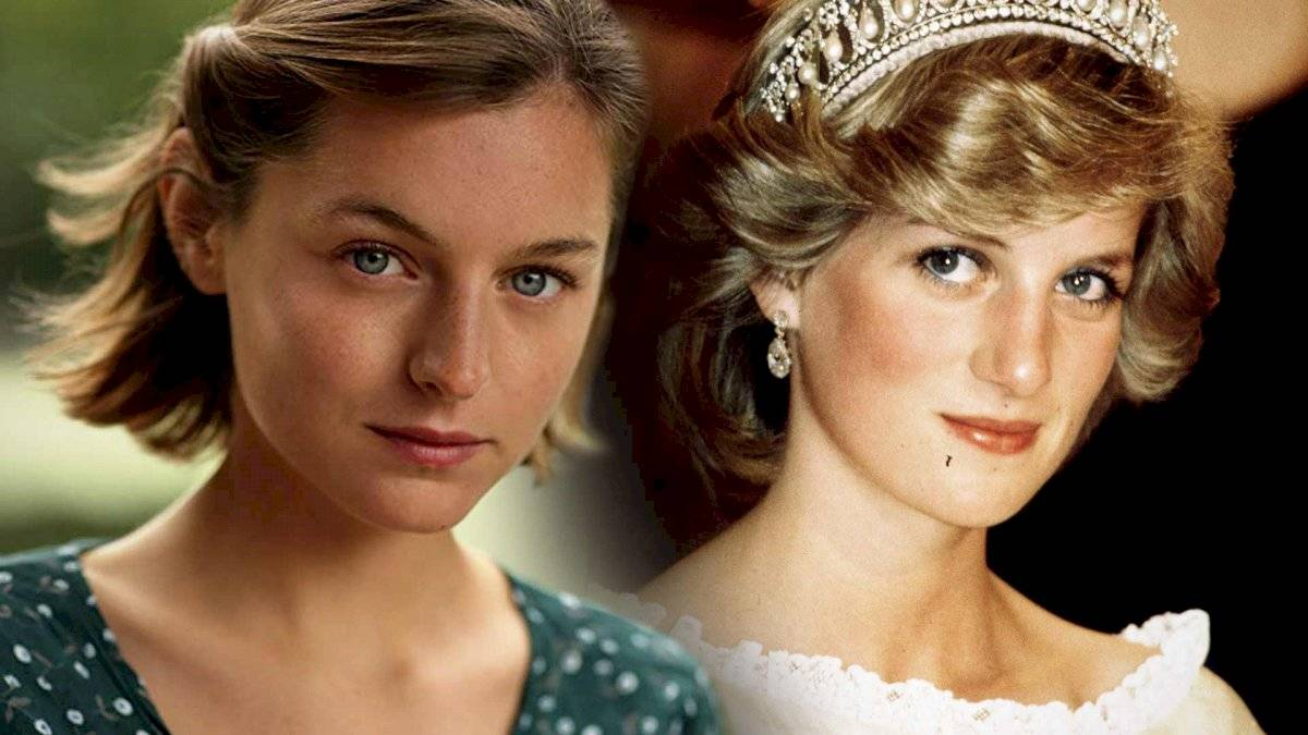 Emma Corrin interpreta a Lady Di en la exitosa serie The Crown