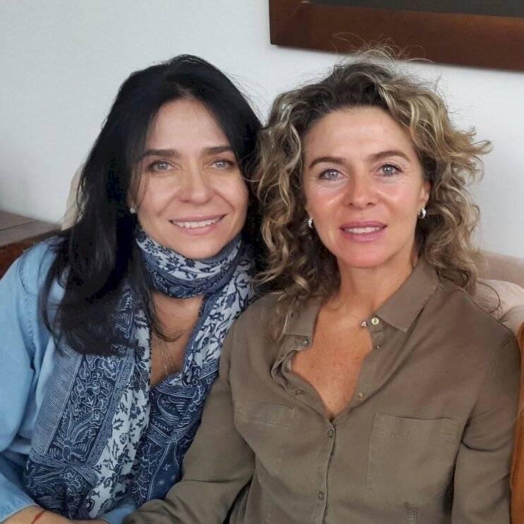 Margarita Rosa y su hermana