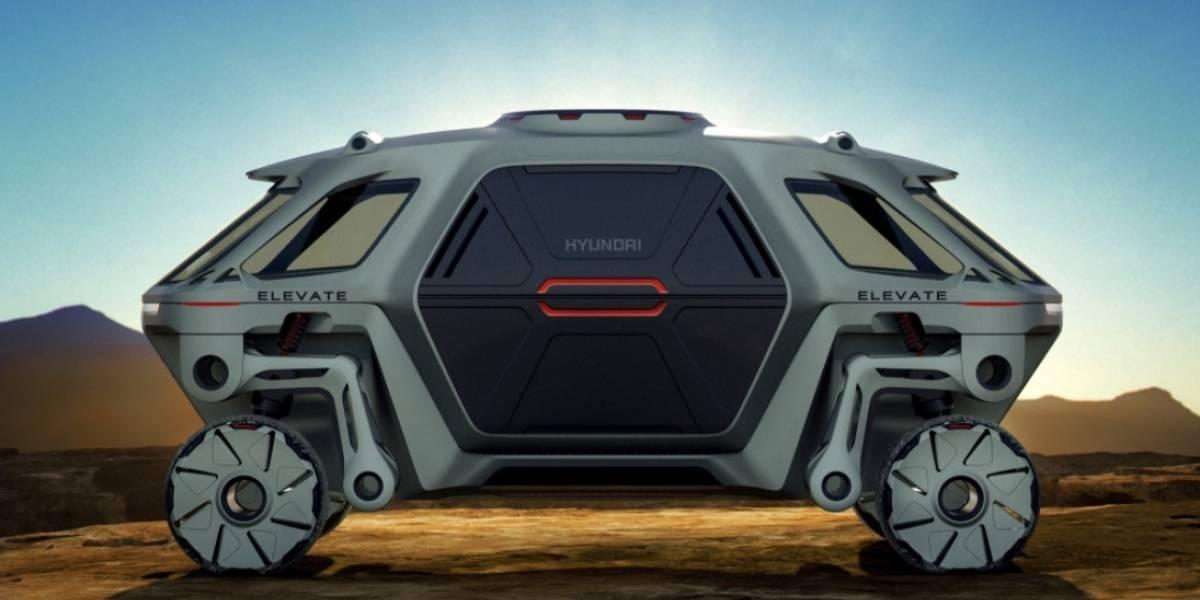 Transformers se está haciendo realidad: Hyundai diseñó un automóvil andante