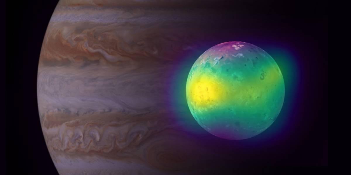 Observatorio ubicado en Chile detectó el impacto volcánico en la atmósfera de una luna de Júpiter