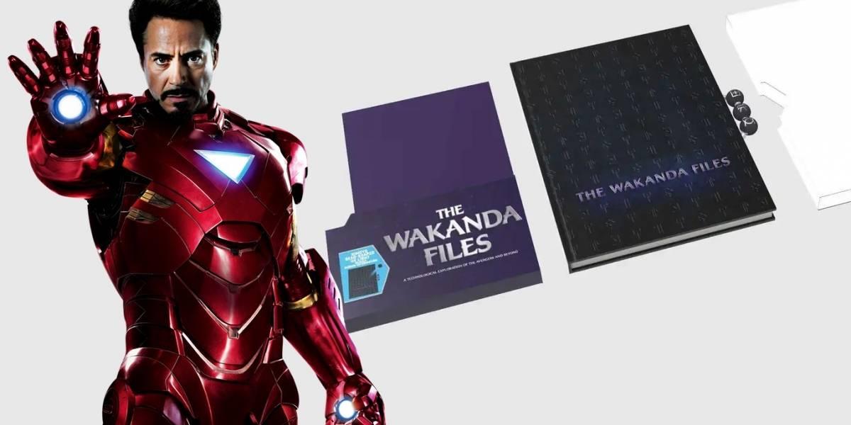 MCU: los diarios de Iron Man son publicados en The Wakanda Files
