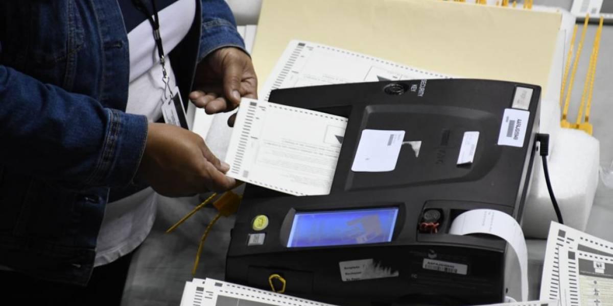 Trabas en el conteo de votos de unas 70,000 papeletas en la CEE