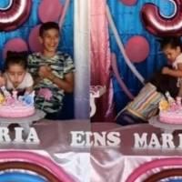 ¡Famosas! Hermanas que pelearon en cumpleaños apagaron 500 velas en programa de TV