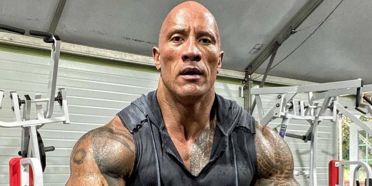 El impactante cambio de Dwayne 'The Rock 'Johnson para las películas de DC Cómics