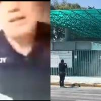 Video: Alumnos denuncia a profesor que golpeó a mujer antes de clase en línea