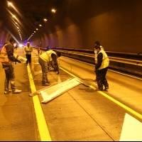 Cuatro días de trabajos integrales en el túnel Guayasamín