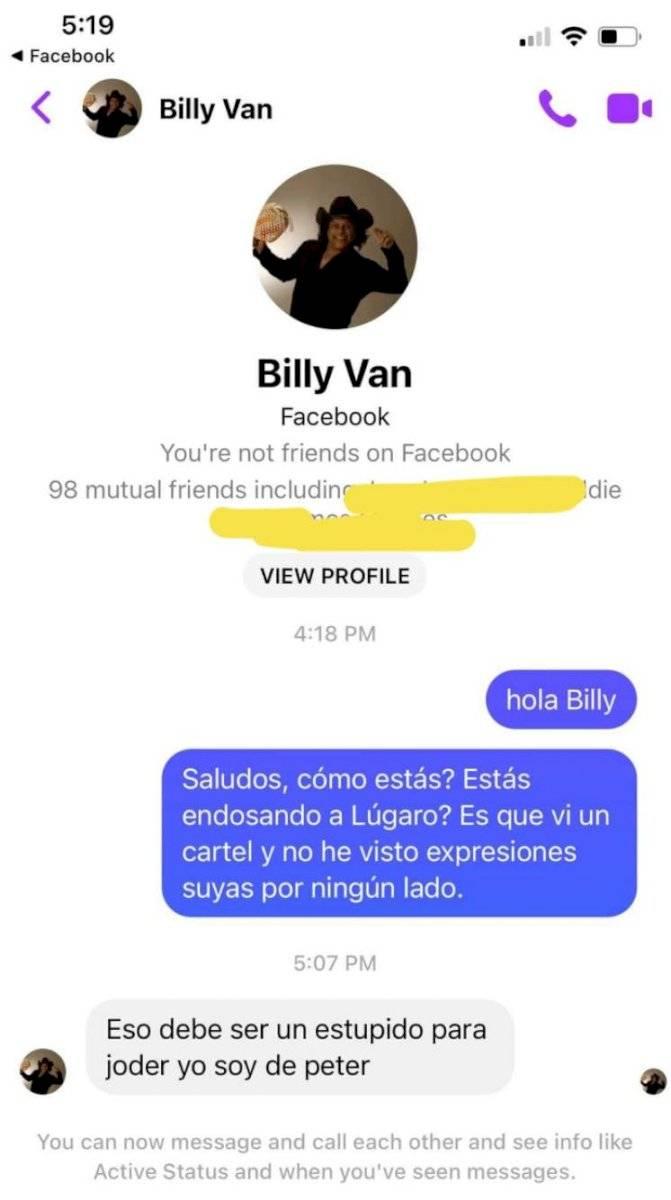 billy van