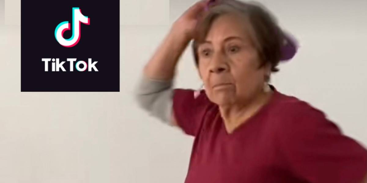 """Conoce a doña Maru, la abuelita que se viraliza en TikTok por tutorial del """"chanclazo"""""""