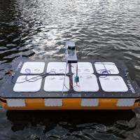 Conoce al Roboat II, el barco robot que navega en los canales de Ámsterdam. Noticias en tiempo real