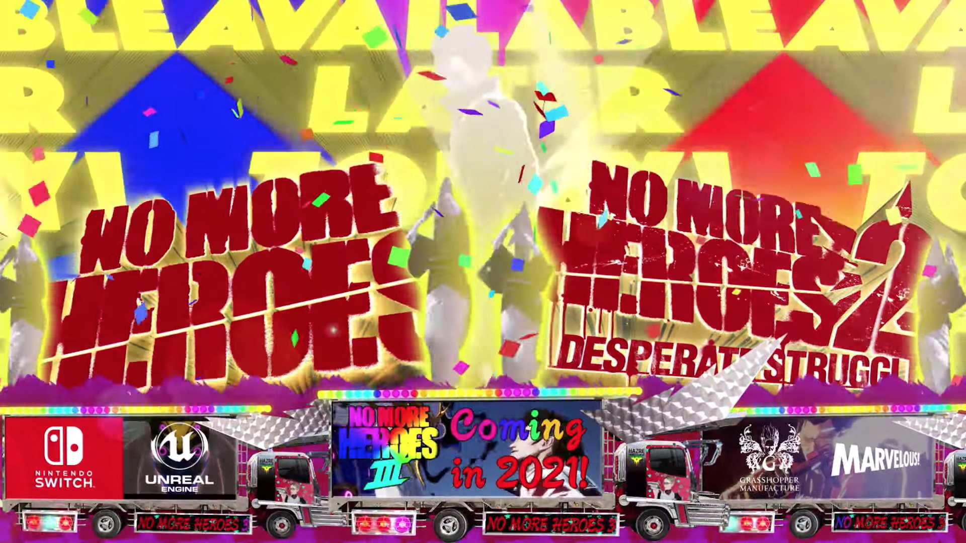 Nintendo Switch No More Heroes