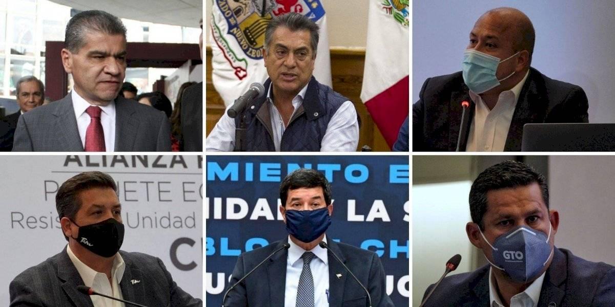 Gobernadores en riesgo de juicio político por impulsar ruptura del pacto federal
