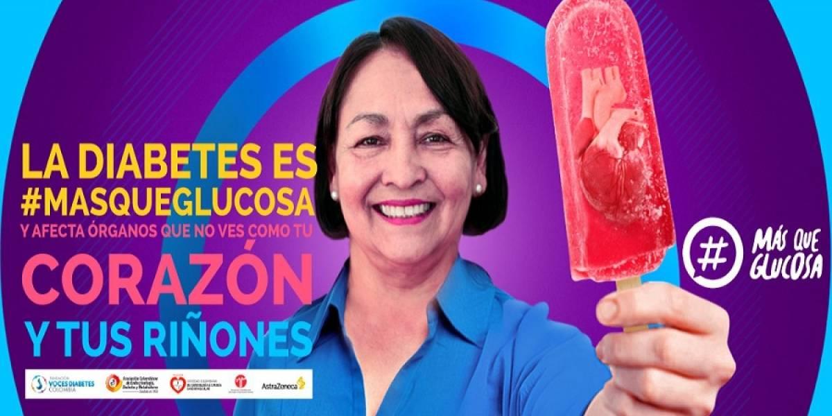 #Masqueglucosa: la creativa campaña que genera conciencia para quienes tienen diabetes