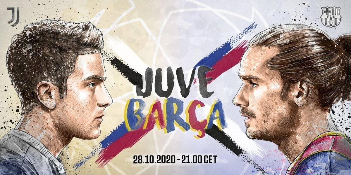 Juventus vs FC. Barcelona: el cruce de mensajes previo a su primer partido en Champions League