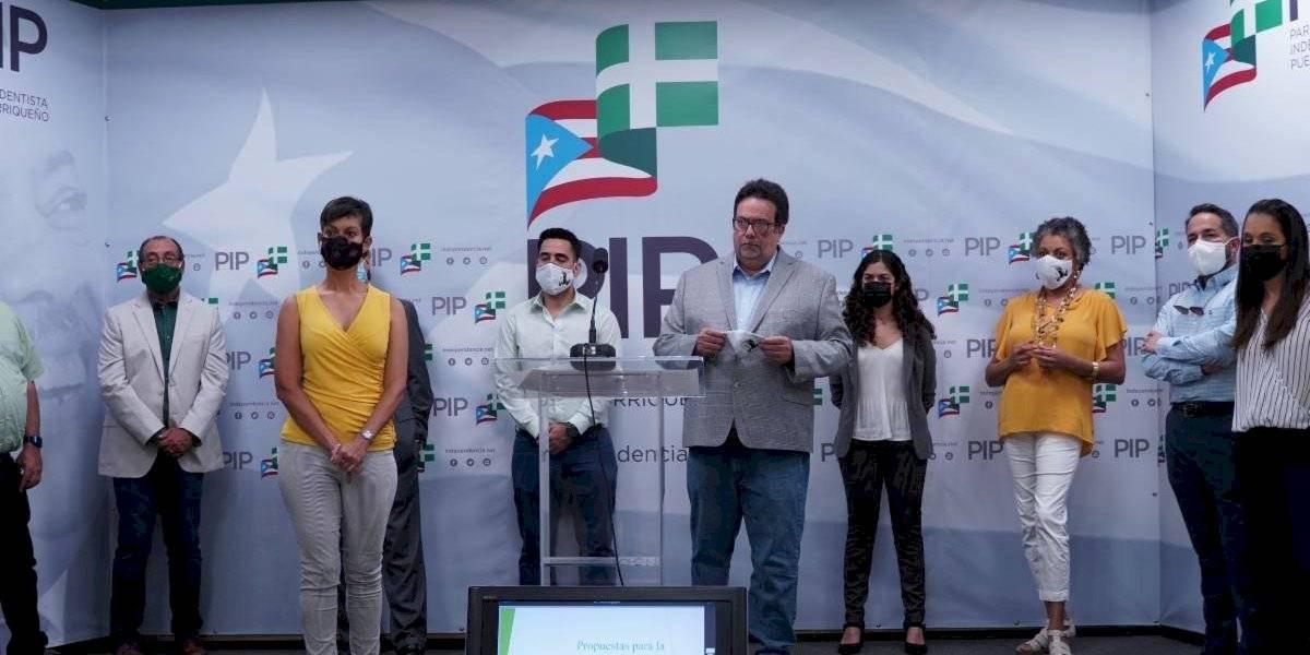 PIP aboga por inscripción de Victoria Ciudadana y Dignidad ante limitación de ley electoral