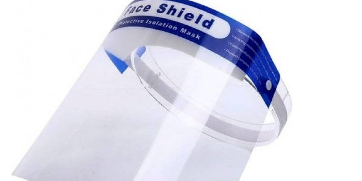 """""""Face shield"""" no protege del COVID si no se usa con mascarilla"""