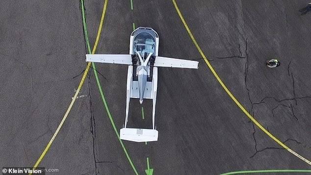 El auto volador de KleinVision.