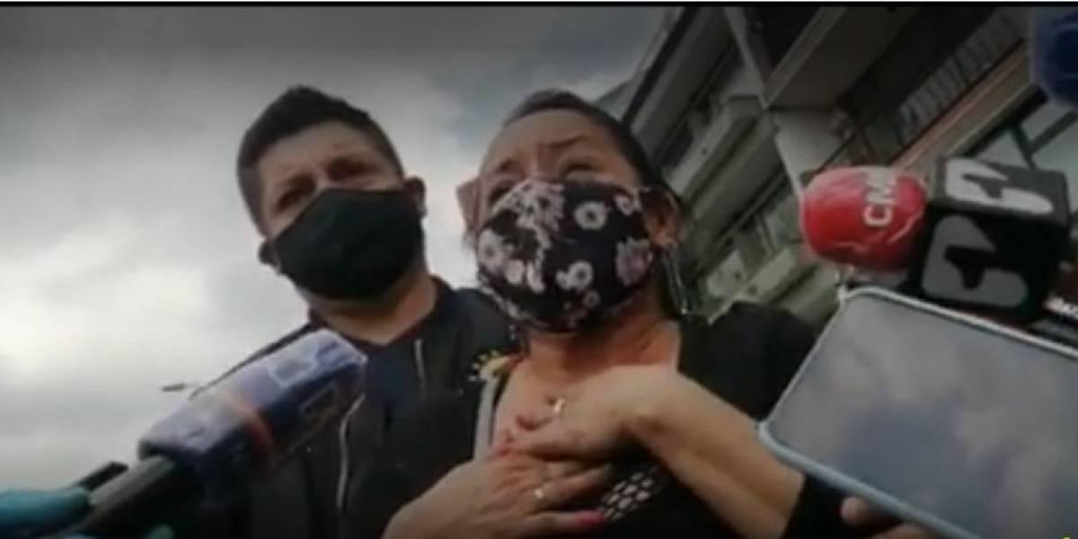 """""""Por comprar un celular"""": duro testimonio de la hermana del hombre asesinado en TransMilenio"""