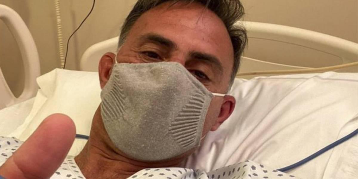 Diego Latorre lucha contra el coronavirus