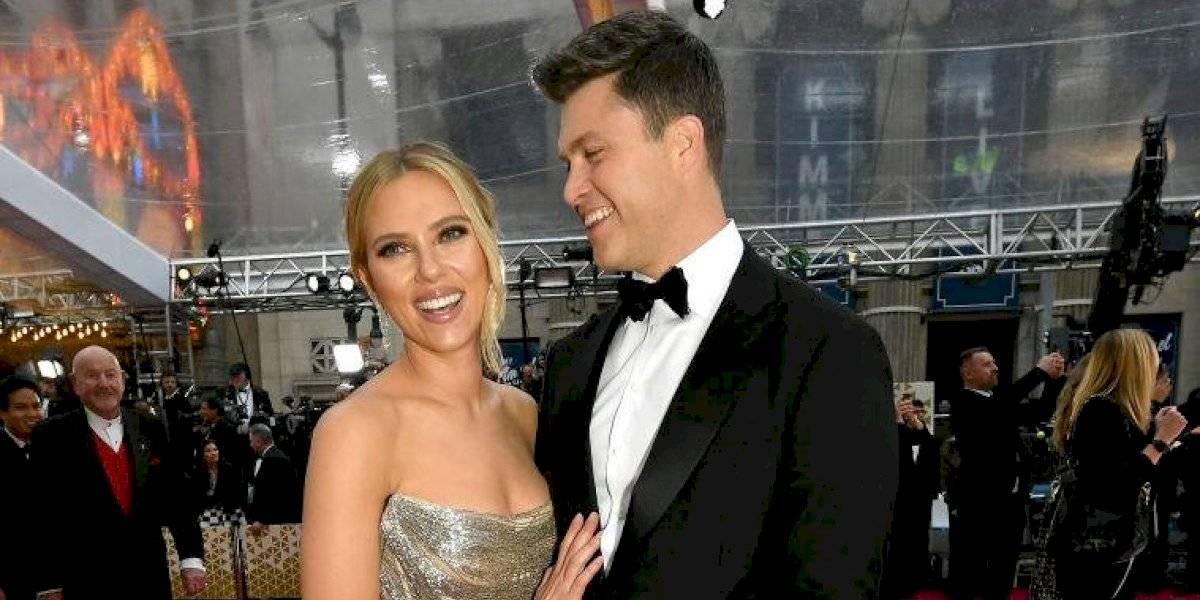 Scarlett Johanson contrajo matrimonio en una secreta ceremonia junto a Colin Jost