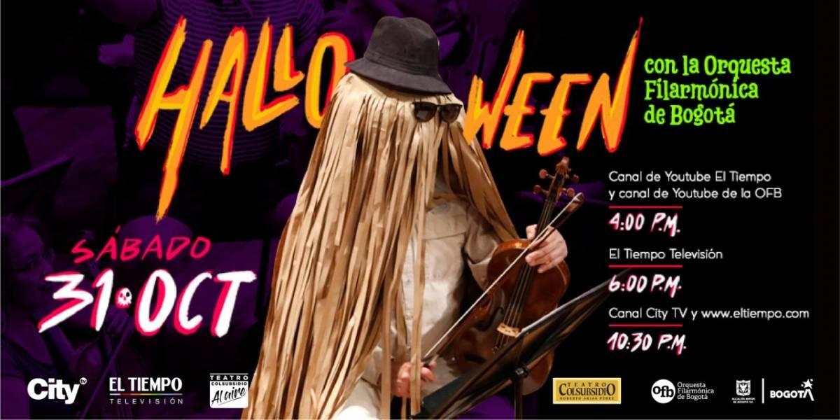 La Orquesta Filarmónica de Bogotá alista el concierto 'Recreo Filarmónico' para Halloween