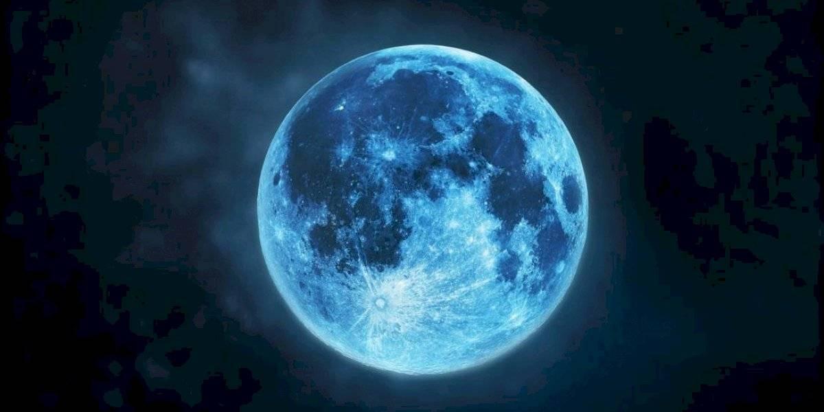 Luna azul en Halloween: esta noche se podrá ver el fenómeno astronómico