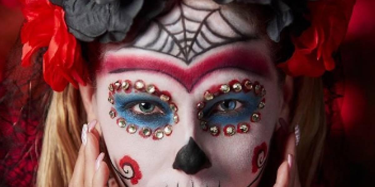 Mira cómo hacer el maquillaje de Catrina para Halloween y el Día de Muertos