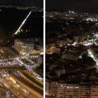 Así se ve el tránsito masivo en París antes del inicio de una nueva cuarentena
