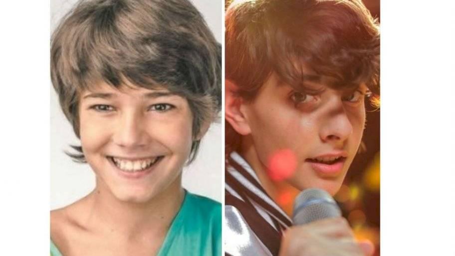 Ricky Martin es interpretado por los actores Ethan Schwartz en su niñez y Felipe Albors en su etapa adolescente.