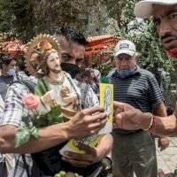 Aglomeración en San Hipólito pone en alerta por celebraciones en Basílica
