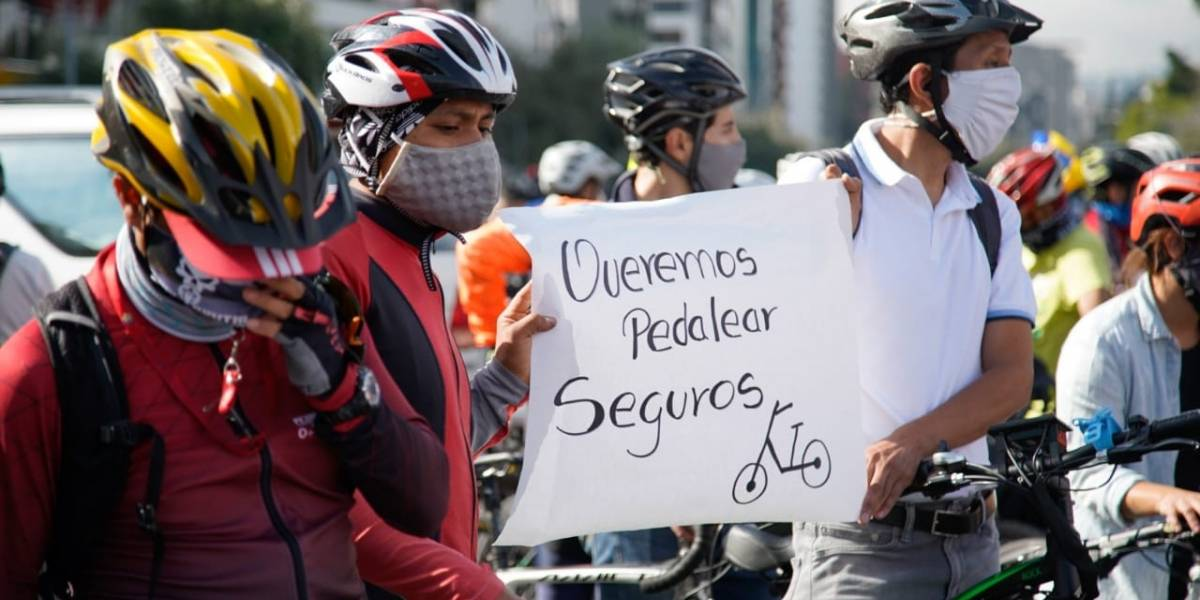 Capturan a una banda señalada por el robo de bicicletas en Quito