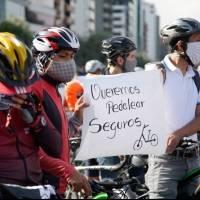 Cicloplantón: Ciclistas piden seguridad ante el alarmado crecimiento de robos y secuestros