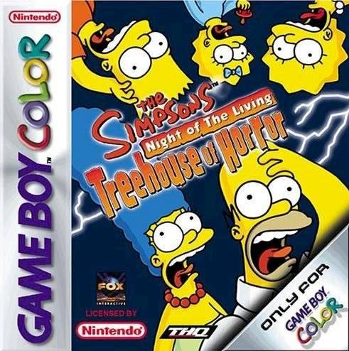 Los Simpson juego de terror