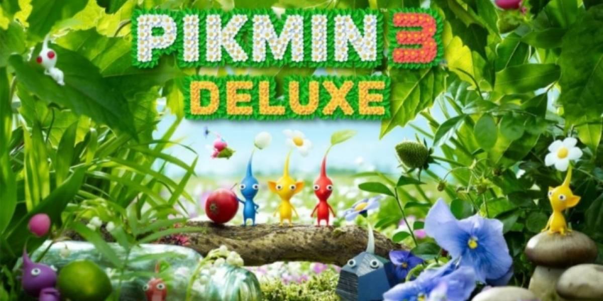 Portaltic.-Llega Pikmin 3 Deluxe a Nintendo Switch, el juego nacido del amor a la jardinería del creador de Mario