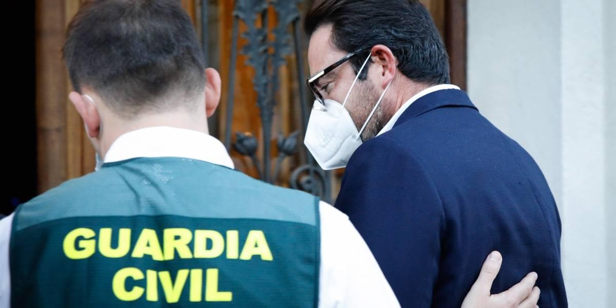 España.- En libertad los detenidos por presunto desvío de fondos al independentismo catalán tras pasar ante el juez