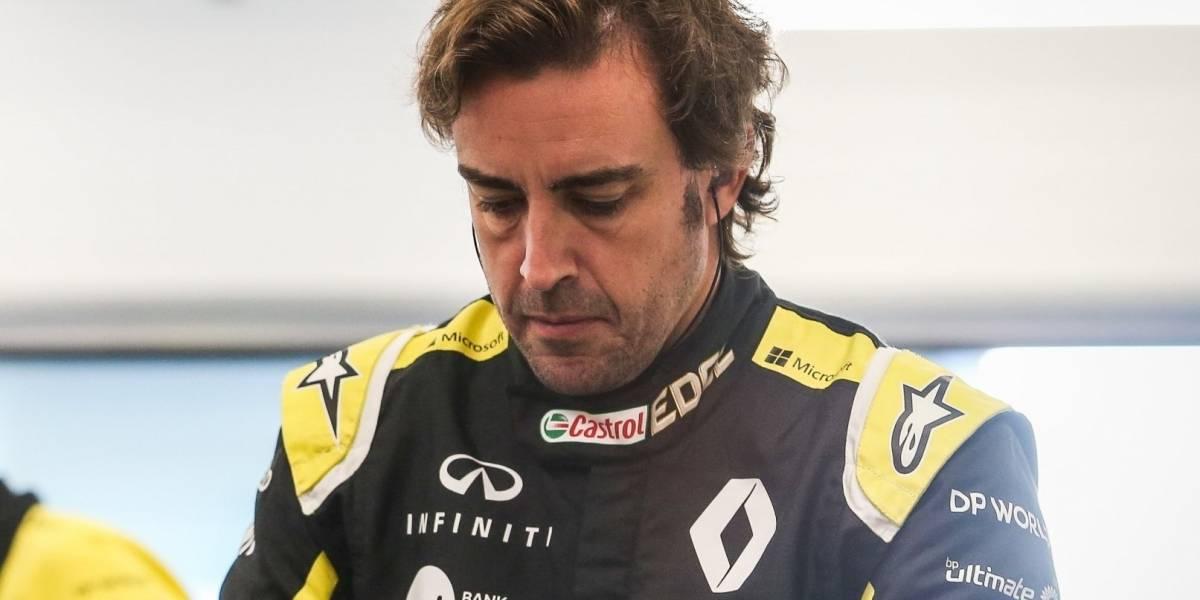 Fórmula 1.-.-Fernando Alonso volverá a pilotar el Renault la próxima semana en Baréin