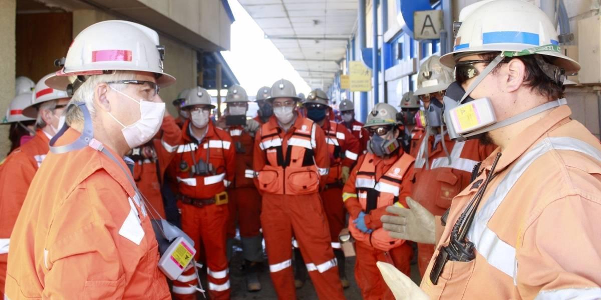 Economía.- Codelco, la mayor productora de cobre del mundo, gana 55,3 millones hasta septiembre