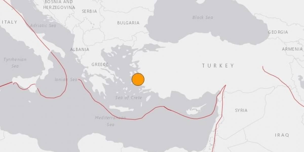 Europa.- El terremoto de 6,6 en el Egeo deja ya seis muertos en Turquía y dos más en Grecia