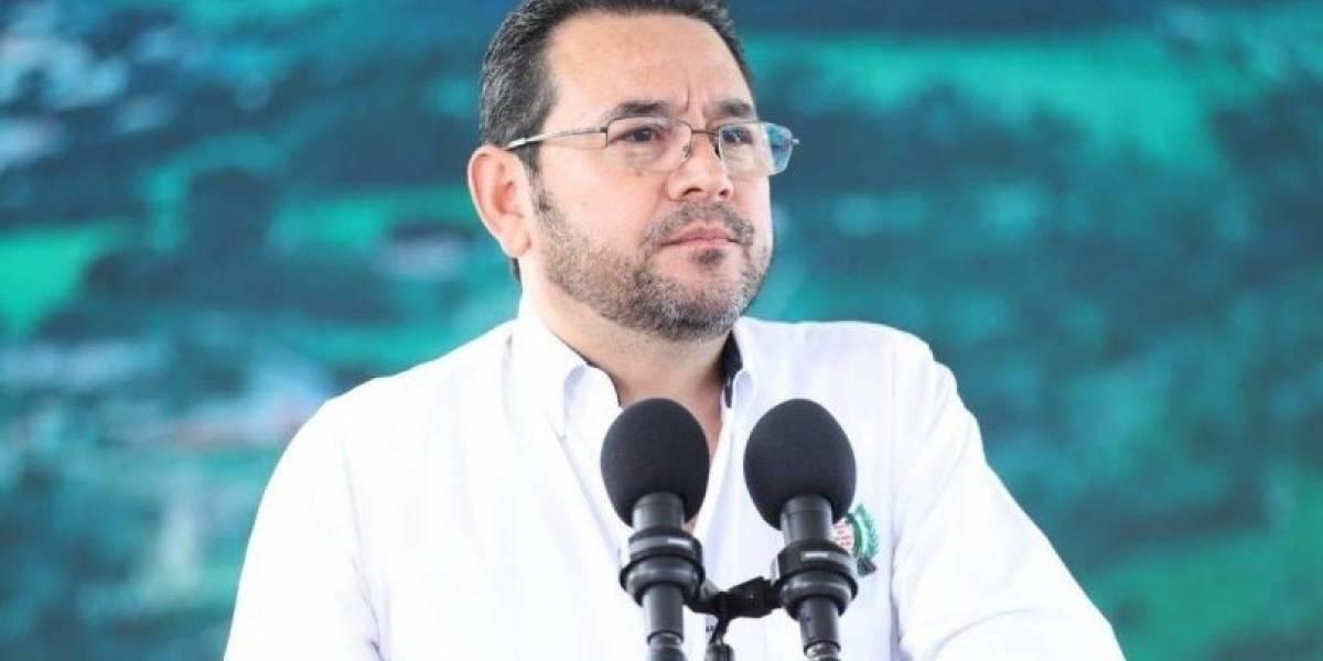 Guatemala.- El Gobierno de Guatemala destituye a cuatro embajadores de la Administración del expresidente Jimmy Morales