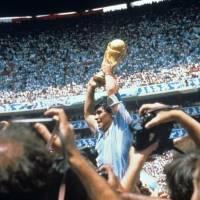 Cumpleaños de Maradona: Mundial de México